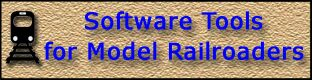Software Tools for Model Railroaders