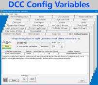 DCC Config Variables
