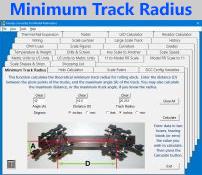 Minimum Track Radius