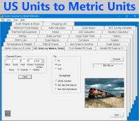 US Units to Metric